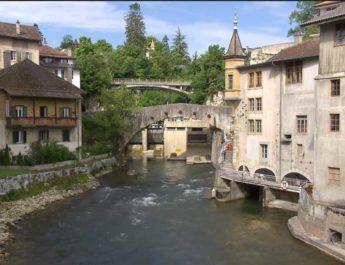 Moulin d'Orbe et Pont Moulinet