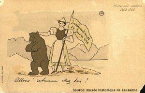 24 janvier indépendance vaudoise