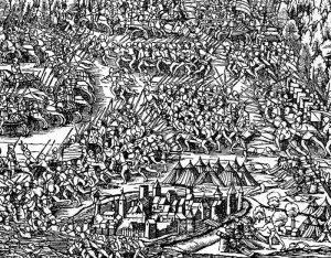 Bataille de Morat d'après Stump