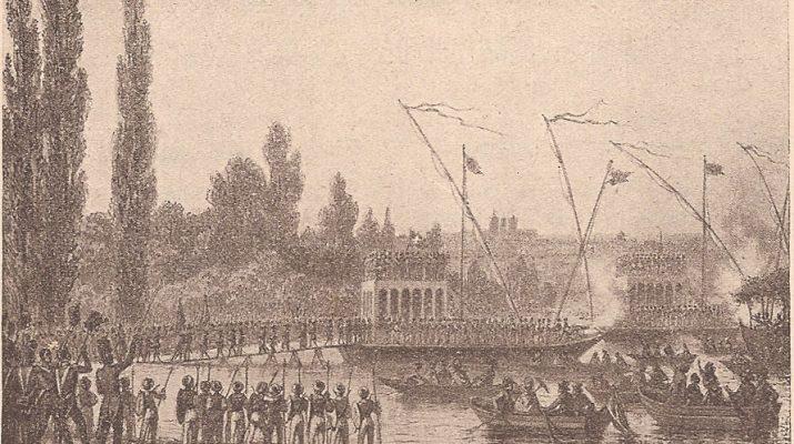 Troupes suisse débarquent à Genève