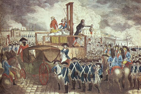 Pendaison de Louis XVI