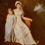 Mme Stael et sa fille
