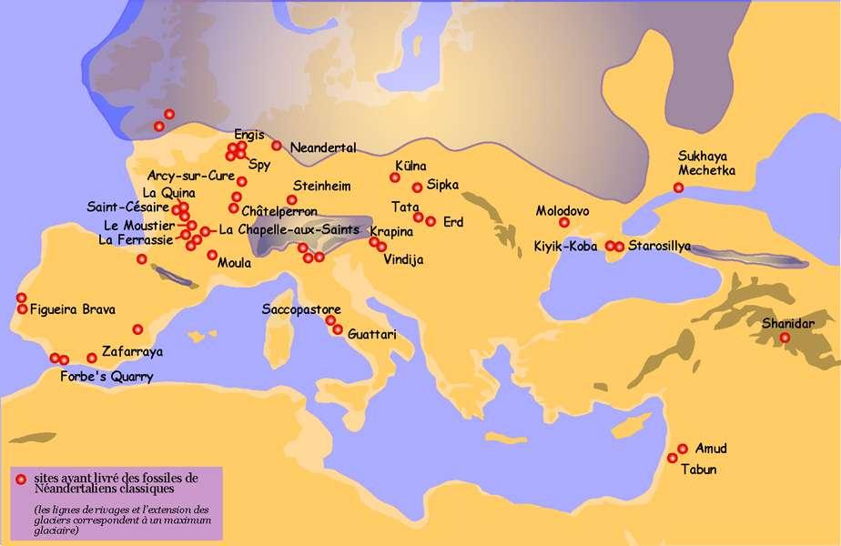 Sites de Néandertal