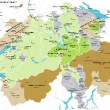 Structure de la Suisse au 18e siècle