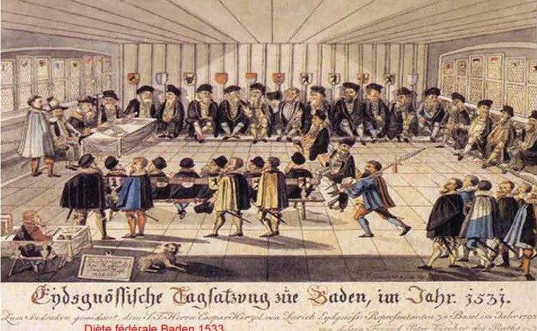 Vaud et les autres cantons de 1830 à 1845