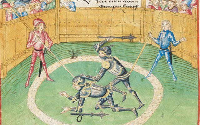Othon III de Grandson se bat contre le duc Gérard d'Estavayer