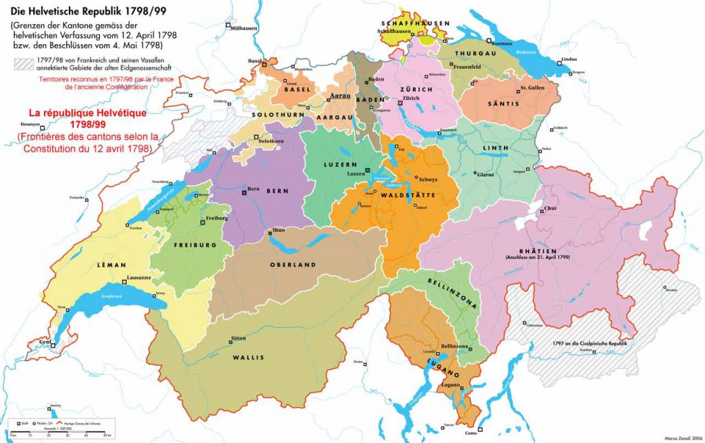 République helvétique 1798