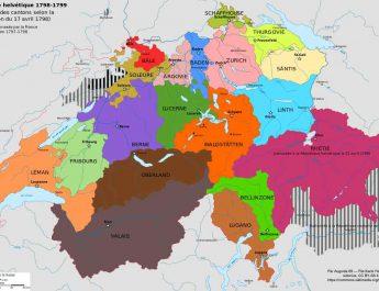 Le canton du léman et la république helvétique