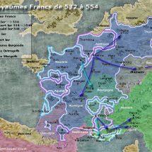Les Francs en Helvétie – Traité de Verdun