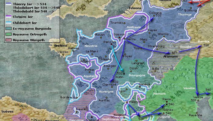 royaumes des francs